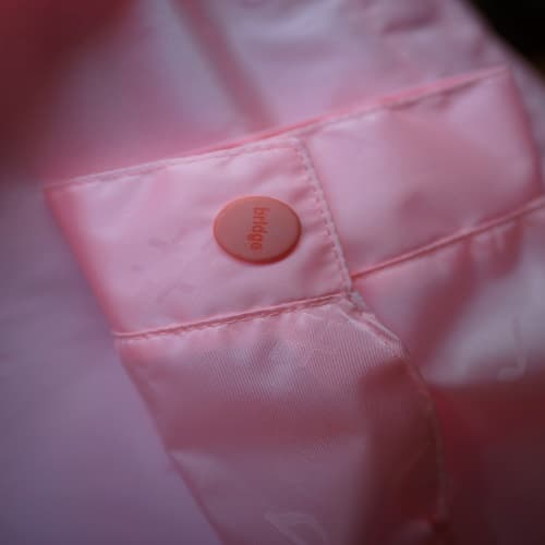 fashion raincoat-button