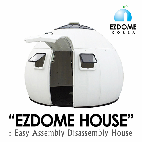 Easy Assembly_Disassembly DIY House EZDOME House