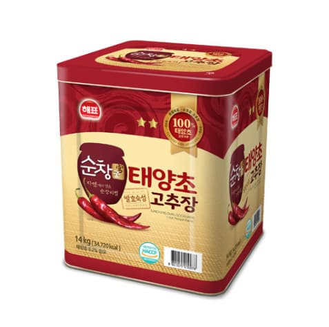 Sajo red pepper paste _Gochujang_ 14kg