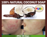 100% Coconut Creamy Soap for skin care