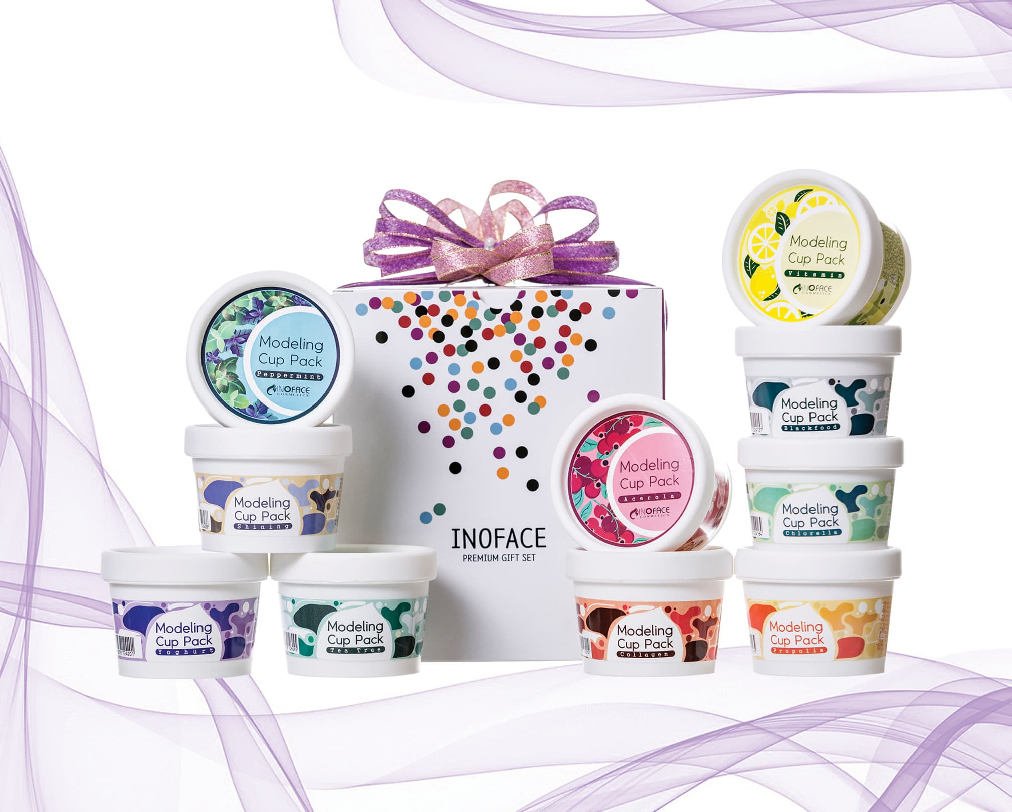 Inoface Collagen Modelin Cup Pack