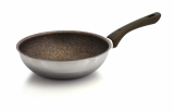 FRYPAN_ WOK _ 3PLY STAINLESS STEEL_ KING STONE COATED