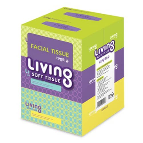 Living facial tissue 200 x 3BOX