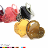 - Renachris - D Heart barrette