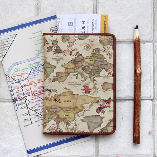indimap No Skimming Passport Case