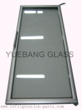 Merchandiser Glass Door