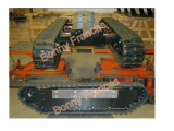 Custom design rubber track and undercarriage