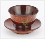 Tea Cup & Saucer Lacquerware