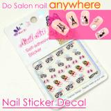 Salon Nail wraps, Trendy nail stickers