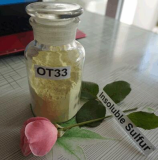 Insoluble sulphur OT33