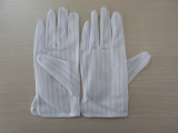 Antistatic Glove PVC dotted palm (406)
