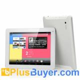 Ceros Revolution - 9.7 Inch Quad Core Android 4.2 Tablet (2048x1536 IPS Retina Screen, 1.6GHz CPU, 2GB RAM, 8000mAh, White)