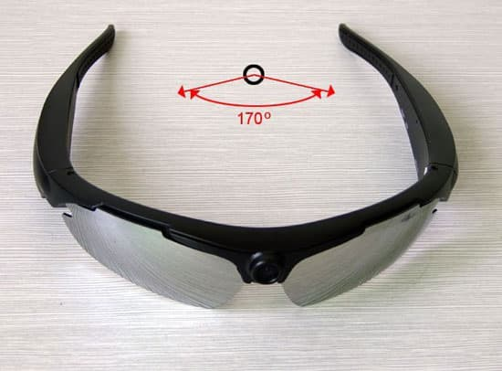 720P HD Sports Sunglasses Hidden Camera DVR