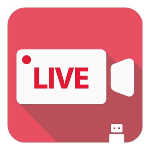 Youtube livestreaming mobile app camerafi live for Live camera website
