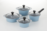 ceramic coated aluminum casting cookware