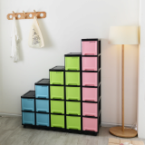 Black _ colour slim drawers