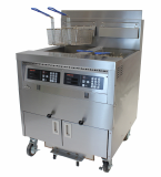 Combination open fryer with built_in Filtration