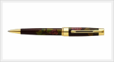 Lacquered Wooden Ball Point Pen (Grapes)