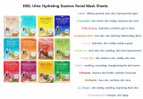 Ekel Ultra Hydrating Essence Facial Mask Sheets