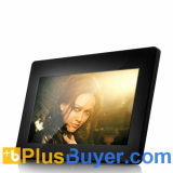 10 Inch Digital Photo Frame + Media Player (1024 x 600, Remote)