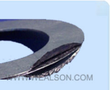 reinforced graphite sheet gasket