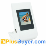 Cute Digital Picture Frame (1.5 Inch LCD Screen, Tumbler Design)