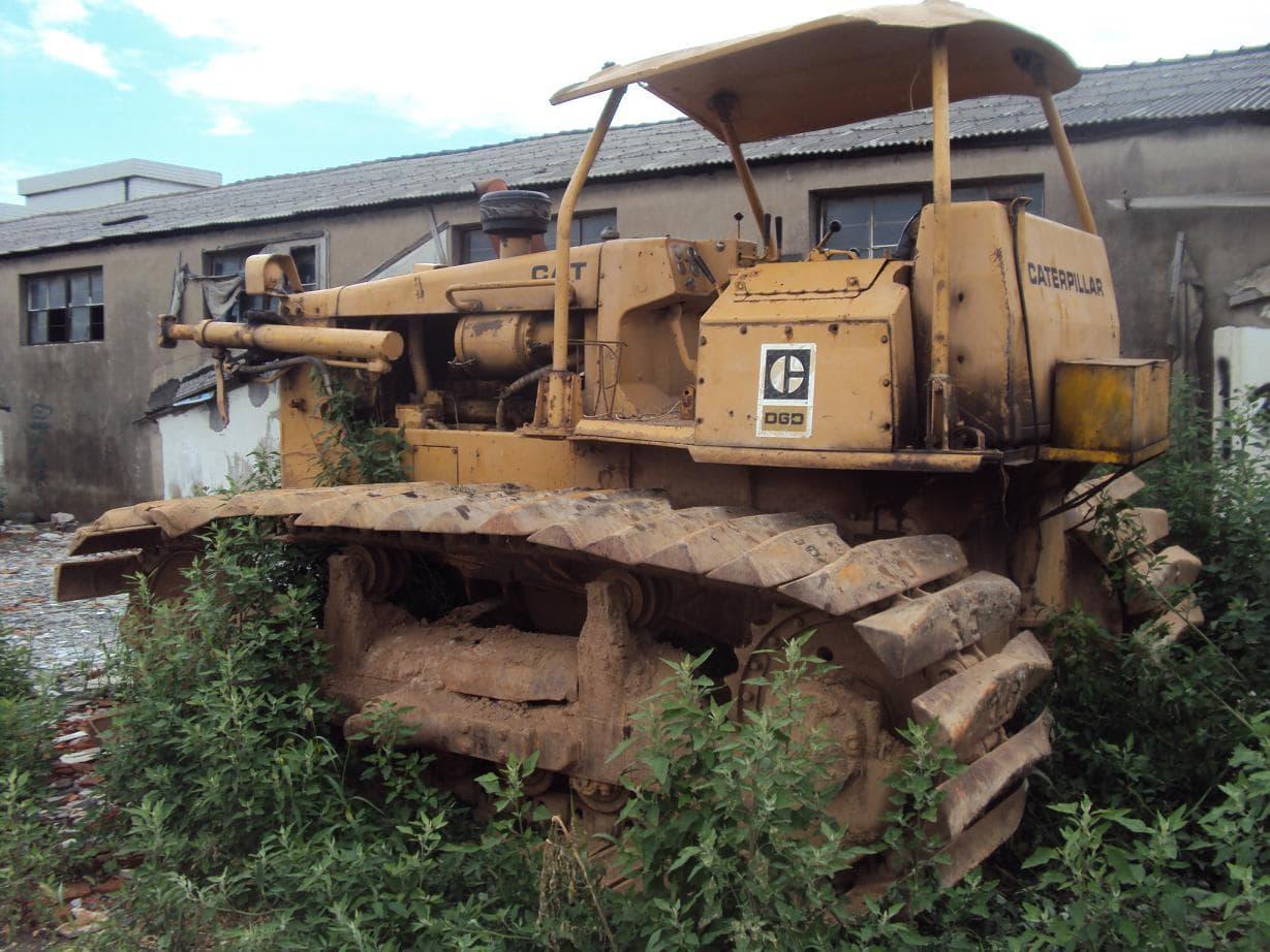 used cat bulldozer D6C | tradekorea