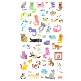 Miaow miaow cat sticker