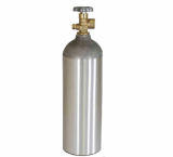 CYLINDER TANK WITH CGA 580 VALVE USED FOR NITROGEN _ HELIUM _ ARGON SHIPPED EMPTY
