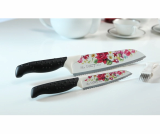 Thermal Coating Kitchen Knife Rose Angel 2pcs set