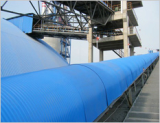 Anti Rain Cover for Belt Conveyor with stainless steel
