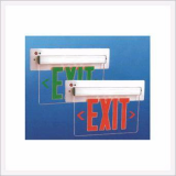 Recessed Wall Mounting LED Edge-Lit Exit Sign