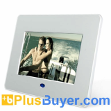 7 Inch TFT Digital Photo Frame + Video Player - Remote