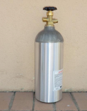 5 lb_ Aluminum CO2 Cylinder with CGA 320 Valve