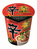 Nongshim Shin Cup Noodle Soup_ Gourmet Spicy _Pack of 12_