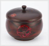 Lacquered Rice Bowl Set