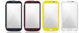 FOR SAMSUNG GALAXY S4 TOUCH COVER AND FOR SAMSUNG GALAXY S4 MIRROR FUNCTION CASE