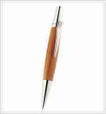 Aria Wooden Ball Point Pen (Apple Platinum Plated)