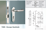 Euro Mortise Lock _ Escape Sashlock _Interconnect Lock_