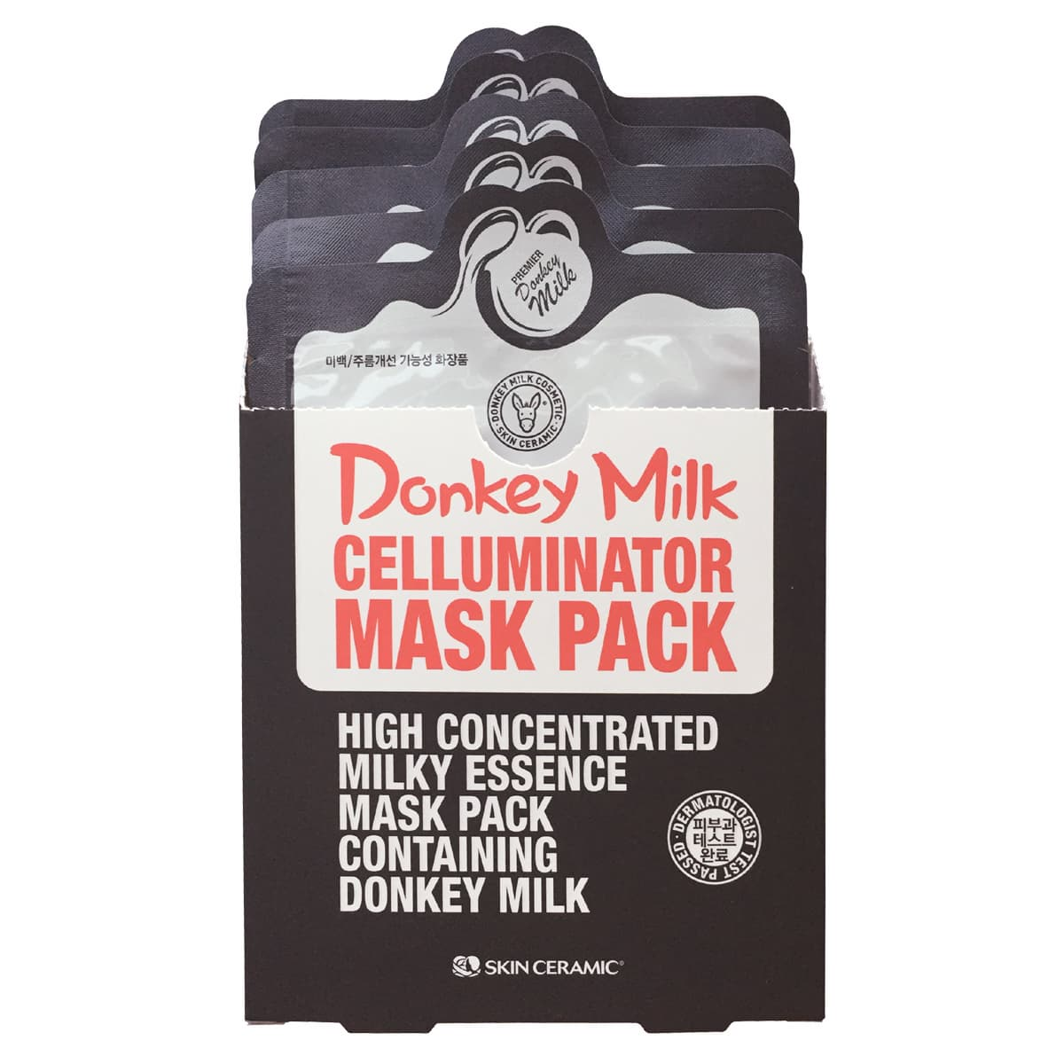Donkey Milk Celluminator Mask Pack