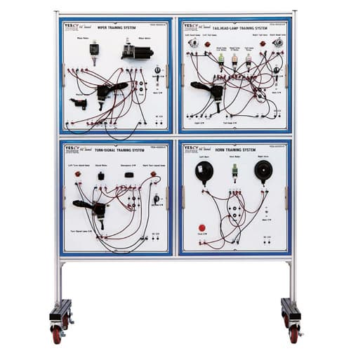 Automotive Electric Circuit Training Equipment from YES01 Youngil ...