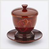 Coffee Cup & Saucer Lacquerware