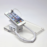 Magnetic mobile phone stand holder display system cable lock