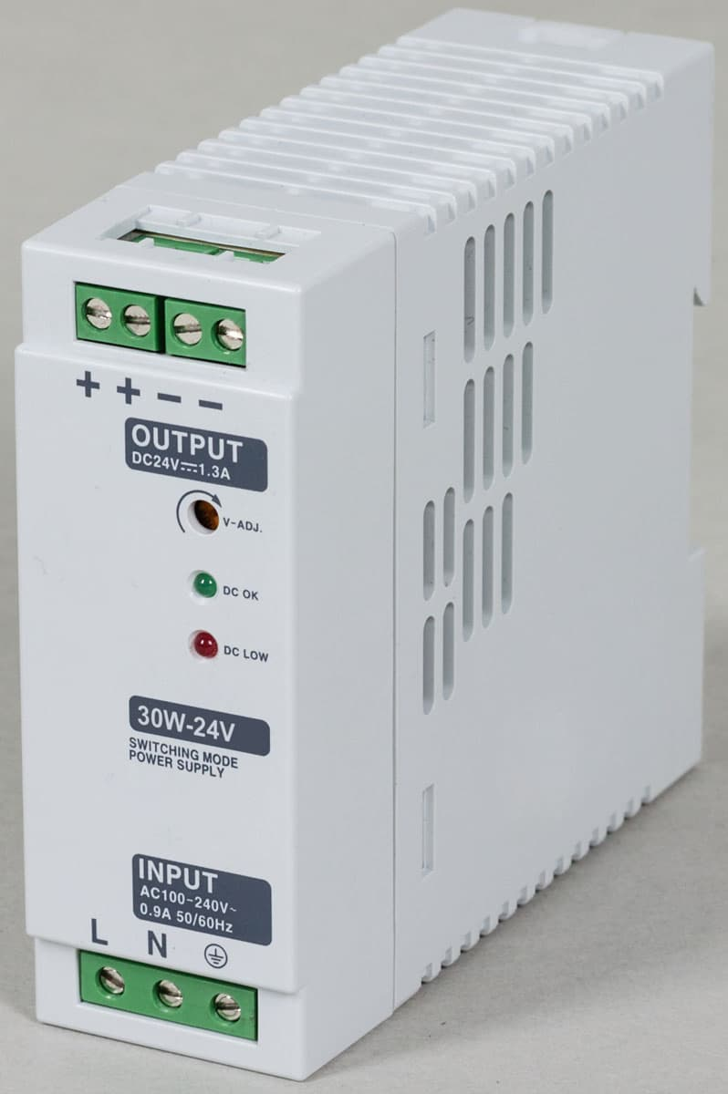 Din rail type power supply