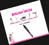 Hot Roll Brush Iron series