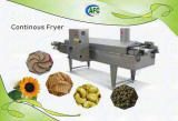 Food Automatic Continous Frying Machine