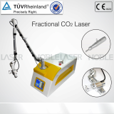 Fractional CO2 diode laser acne removal