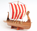Wooden Model Boat Drakkar Viking