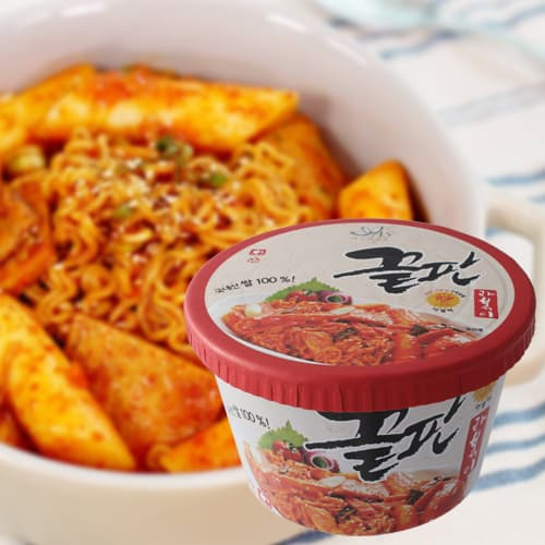 The greatest Tteokbokki_ Korean rice cake_ instant cup