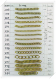 Brass Chains for imitation jewelry -KT171-